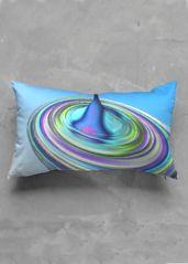Discoidal - Accent Pillow - Luster Oblong by Constantina Seracin Pillow Inserts, Pillow Covers, Accent Pillows, Throw Pillows, Luster, Beautiful, Collection, Pillow Case Dresses, Toss Pillows