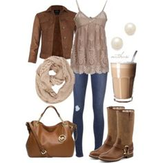 Brown Boots Contest Fall Outfit