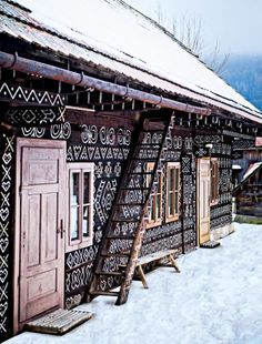 Cicmany, a small village located in Slovakia that has stood out from the others in putting forward its cultural heritage.