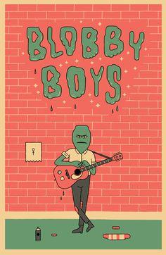 Blobby Boys by Alex Schubert - I loved it!