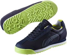 dff2881bc Puma Roma Basic Geometric Camo JR Sneakers