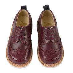 Young Soles children brogue oxford shoes   Young soles enfant derbies richelieu bout fleuri