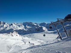 Kaunertal Glacier - Ried-Prutz-Fendels skiing area - Tyrol - Austria