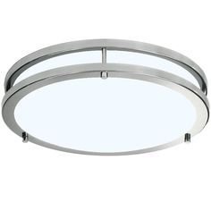 Double ring LED light - suitable for hallways, bedrooms, stairways and living rooms. Led Lighting Home, Bedroom Lighting, Cool Lighting, Home Ceiling, Bedroom Ceiling, Dimmable Led Ceiling Lights, Led Light Fixtures, Stylish Bedroom, Led Flush Mount