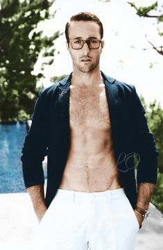 Aloha Friday- Time For Some More Alex O'Loughlin Photos Alex O'loughlin, Alex Love, Aloha Friday, Scott Caan, Ginger Beard, Hollywood, Hairy Chest, Military Men, Pretty Men