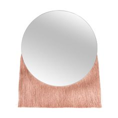 Buy the Nappa Small Fringed Mirror at Oliver Bonas. Enjoy free UK standard delivery for orders over £50.