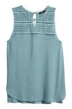 Top con pizzo | H&M