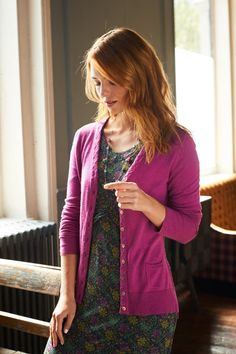 Mistral is a lifestyle women's clothing brand offering a unique collection of stylish colours and prints to create beautiful outfits. Diana Fashion, Pink Cardigan, Aw17, Beautiful Outfits, Hot Pink, Tapestry Floral, Clothes For Women, Stylish, Womens Fashion