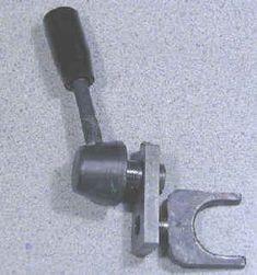 HI-LO lever_y. Lathe, Door Handles, Mini, Door Knobs, Computer Case, Lathe Chuck, Turning, Door Knob