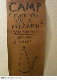 """Camp """"Fuck Yea"""""""