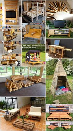 Awesome Recycling Ideas for Old Shipping Pallets