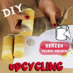 Today it is all about upcycling making candles from candle scraps and toilet paper rolls as candle shapes. Homemade Scented Candles, Diy Candles Easy, Diy Candle Ideas, Gel Candles, Candle Art, Cement Crafts, Candle Making, Diy Gifts, Christmas Diy