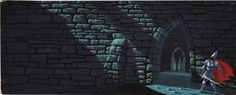 Sleeping Beauty (1959) | 50 Beautiful Pieces Of Concept Art From Classic Disney Movies  Sleeping Beauty (1959) Concept art by Eyvind Earle.
