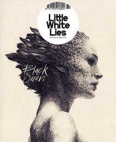Little White Lies magazine illustration by Rupert Smissen. Creative Review - Norwich UCA: Illustration show