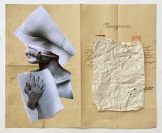 Collage ZEUGNIS, W. Strempler, 2016