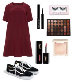 """Photoshoot outfit #3"" by victoriapond on Polyvore featuring Manon Baptiste, J.Crew, Boohoo, Giorgio Armani, Morphe, Jouer and Yves Saint Laurent"