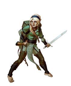 Female Halfling Bard - Pathfinder PFRPG DND D&D d20 fantasy