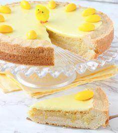 Citronmazarinkaka med citronglasyr – påskens godaste kaka!!! Cake Cookies, Cupcake Cakes, Cupcakes, Grandma Cookies, Cookie Recipes, Dessert Recipes, Dessert Drinks, Let Them Eat Cake, Vanilla Cake