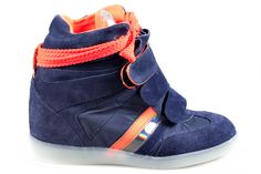 Serafini Manhattan Fluo blue/orange