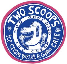 Two Scoops Close to pier Ice cream and sandwiches