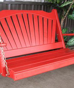 Look what I found on #zulily! 5' Fan-Back Porch Swing #zulilyfinds