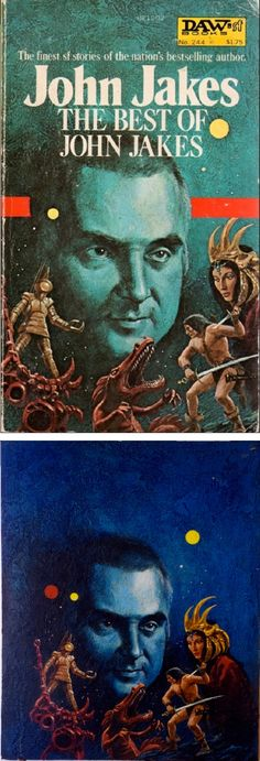 JACK GAUGHAN - The Best of John Jakes by John Jakes - 1977 Daw Books - cover by isfdb - print by picssr.com