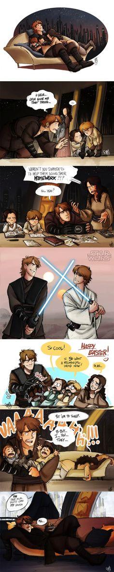 If Anakin Skywalker had never become evil... - 9GAG Anakin Skywalker, Best Funny Pictures, Fandoms, Memes, Meme, Fandom