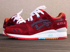 Tendance Basket Femme 2017- Asics Gel Lyte III Patta x Parra Customs  SneakerNews.com