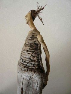 Driftwood person.