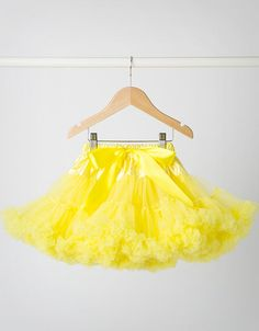 CANDY BOWS - Sunshine Yellow Tutu for toddler and baby available at www.our-kid.co.uk