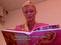 Find images and videos about pink, quotes and paris hilton on We Heart It - the app to get lost in what you love. Bad Girl Aesthetic, Quote Aesthetic, 90s Aesthetic, Paris Hilton Quotes, Paris And Nicole, My Pool, My Tumblr, Mood Pics, Mean Girls