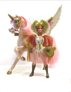 She-ra- got the doll when Andrea got her black Pound Puppy