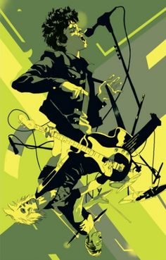 Green Day - Tomer Hanuka - Rolling Stone 2012-09-27 ----