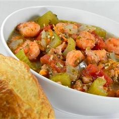 Herbs And Spices, Russells Fish Stew, Nice Hearty Seafood Stew, Perfect For Those Cold Winter Days. Serve With Sliced French Bread. Shellfish Recipes, Shrimp Recipes, Fish Dishes, Seafood Dishes, Main Dishes, Ways To Cook Shrimp, Seafood Stew, Cajun Cooking, Fish Stew