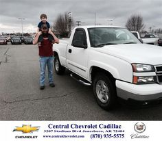 Congratulations to Chris Clayton on your #Chevrolet #Silverado 1500 Classic purchase from Neal Carpenter at Central Chevrolet Cadillac! #NewCar