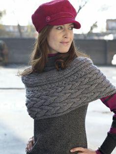 Shoulder Shrug | Yarn | Free Knitting Patterns | Crochet Patterns | Yarnspirations