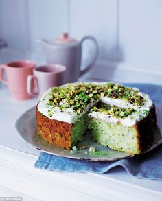 It sounds peculiar, but I promise that you will love this cake - incredibly moist sponge with zingy lime icing. Courgette And Lime Cake, Courgette Cake Recipe, Sweet Recipes, Cake Recipes, Dessert Recipes, Cupcakes, Cake Cookies, Vegetable Cake, Veggie Cakes