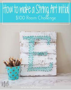 String Art Letter In
