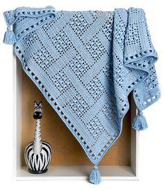stitcherywitchery: Colector ideal manta Lanza - un patrón de ganchillo por Alla Koval.  Disponible para su descarga gratuita por un tiempo limitado.