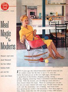 Eames Molded Plastic Rocking Chair Rocker, 1959