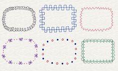 Illustration of frame Doodle Drawings, Easy Drawings, Doodle Art, Pen Doodles, Kawaii Doodles, Doodle Borders, Pen Illustration, Japanese Drawings, Envelope Art
