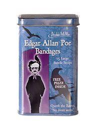 Edgar Allan Poe Boo-Boo Bandages