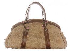 Christian Dior Persian Lamb Satchel Bag