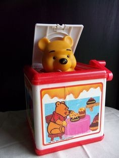 "Meritus ""Disney's Winnie the Pooh"" jack-in-the-box"