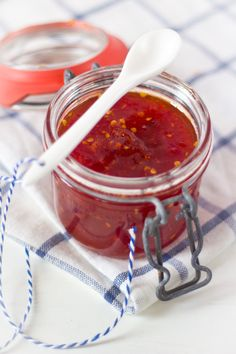 Pittige tomatenjam r