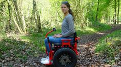 Mobiel Bi-Go (tweewielige elektrische rolstoel gebaseerd op de Segway.)