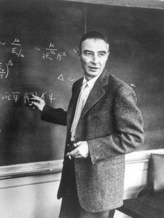 J. Robert Oppenheimer, born on April 22, 1904, was the scientific director of the Manhattan Project, the World War II project that developed the first nuclear weapons. He strongly opposed the development of the hydrogen bomb, however, and in 1953 was suspended from secret nuclear research as an alleged communist sympathizer, a case backed by Edward Teller. In 1963 he was reinstated and awarded the Enrico Fermi Award.