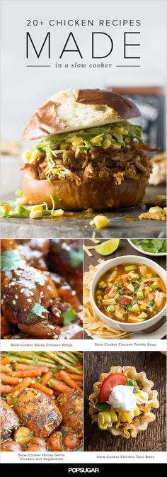 Slow cook your way to an easy and flavorful dinner. These crockpot chicken recipes are perfect for Fall.