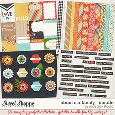 About Our Family - Bundle by Jady Day Studio - digital scrapbooking