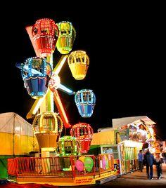 Trishy Rose: Wordless Wednesday: Under the Boardwalk! Air Balloon, Balloons, Carnival Lights, Fair Rides, Send In The Clowns, Amusement Park Rides, Country Fair, Carnival Rides, Fun Fair